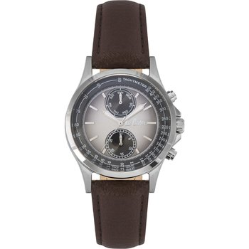 LEE COOPER Mens Brown Leather Strap