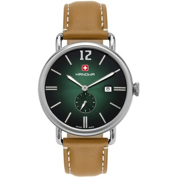 HANOWA Victor Brown Leather Strap