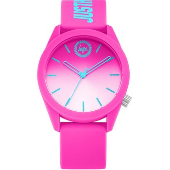 HYPE Ladies Fuchsia Rubber Strap