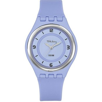 TEKDAY Ladies Purple Plastic Strap