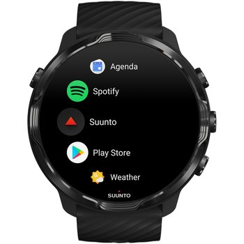 SUUNTO 7 All Black with Silicone Strap