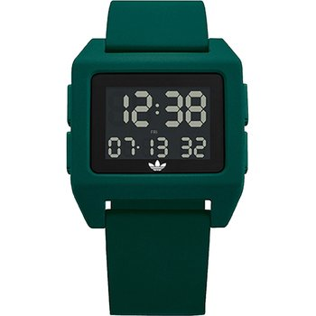 ADIDAS ORIGINALS Archive_SP1 Dual Time Chronograph Green Silicone Strap