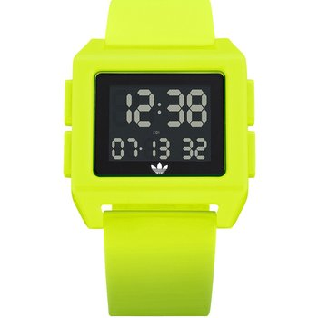 ADIDAS ORIGINALS Archive_SP1 Dual Time Chronograph Yellow Silicone Strap