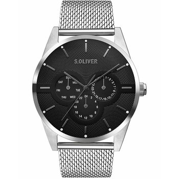 s.Oliver Mens Silver