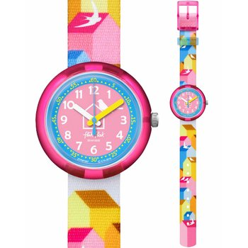 FLIK FLAK City of Life Casitas Multicolor Fabric Strap
