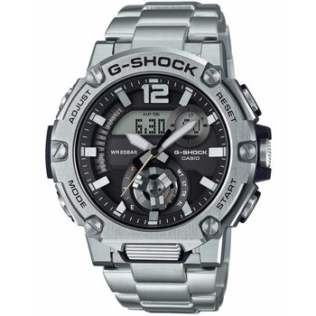 CASIO G-Shock Chronograph Silver Stainless Steel Bracelet