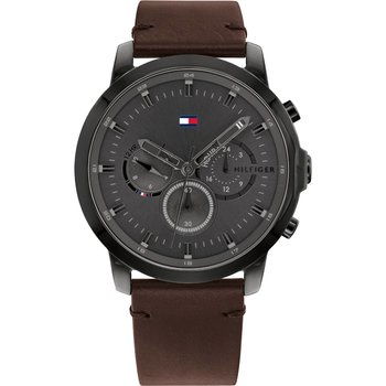 Tommy HILFIGER Casual Brown Leather Strap