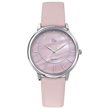 GO Ladies Pink Leather Strap