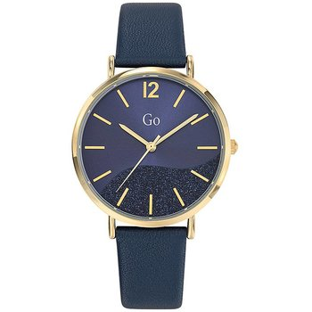 GO Ladies Blue Leather Strap