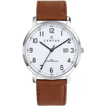 CERTUS Women Brown Leather Strap
