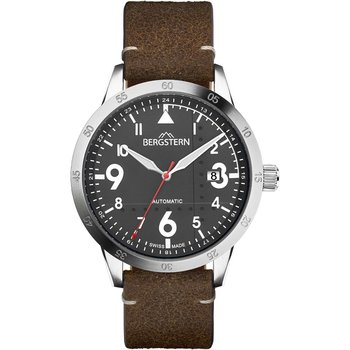 BERGSTERN Harmony Automatic Brown Leather Strap