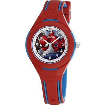 AM:PM Marvel Spiderman Two Tone Silicone Strap