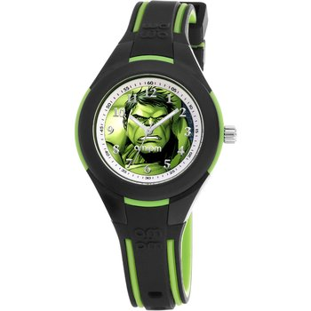 AM:PM Marvel Hulk Two Tone Silicone Strap