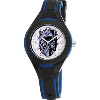 AM:PM Marvel Black Panther Two Tone Silicone Strap