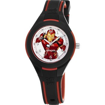 AM:PM Marvel Ironman Two Tone Silicone Strap