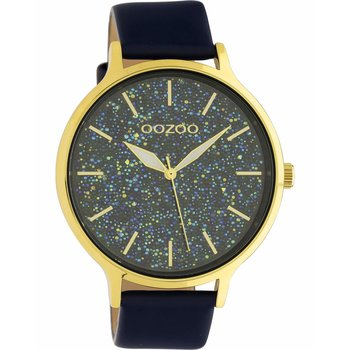 OOZOO Timepieces Blue Leather