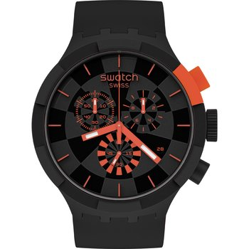 SWATCH Checkpoint Red