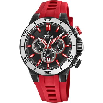 FESTINA Gents Chronograph Red