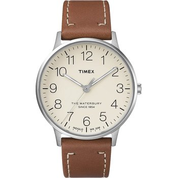 TIMEX Waterbury Brown Leather
