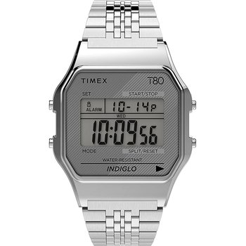 TIMEX T80 Chronograph Silver