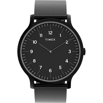 TIMEX Norway Black Stainless