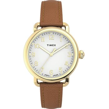 TIMEX Standard Brown Leather
