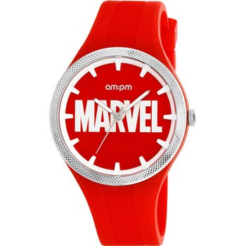AM:PM Marvel Red Silicone Strap