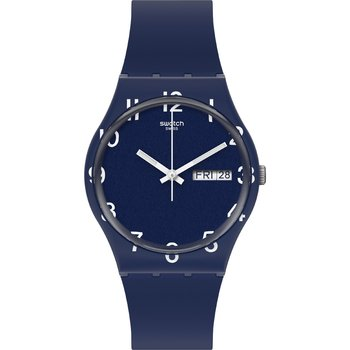 SWATCH Gents Over Blue with Blue Silicone Strap