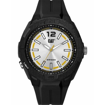 CATERPILLAR Phoenix Black Rubber Strap