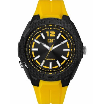 CATERPILLAR Phoenix Yellow Rubber Strap