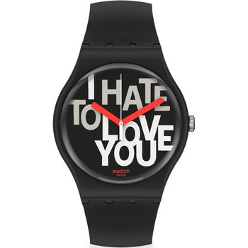 SWATCH Hate 2 Love Black