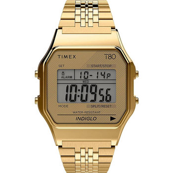 TIMEX T80 Chronograph Gold