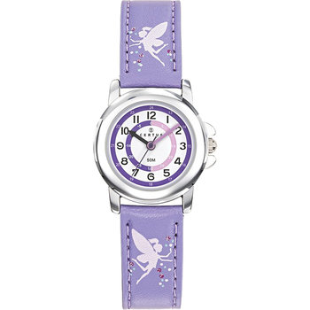 CERTUS Girls Purple Leather Strap