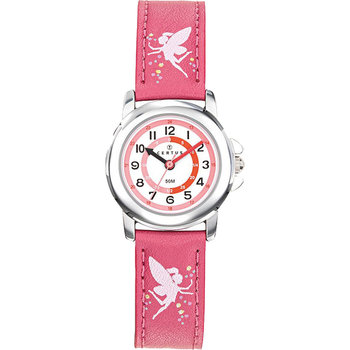 CERTUS Girls Pink Leather Strap