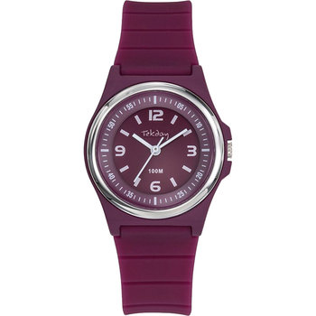 TEKDAY Women Purple Silicone Strap
