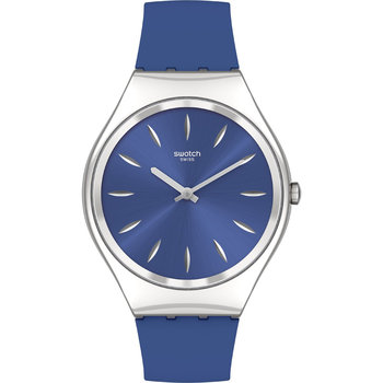 SWATCH Skin Irony Skin Deep Blink Blue Silicone Strap