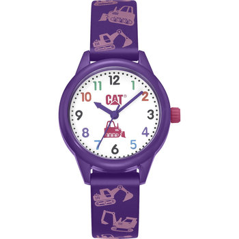 CATERPILLAR Kids Purple Silicone Strap