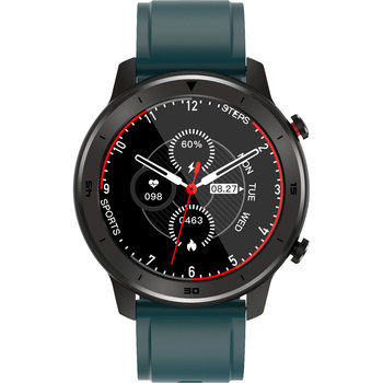 DAS.4 Smartwatch Chronograph Green Silicon Strap SQ12