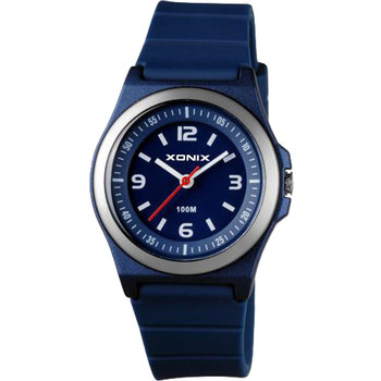 XONIX Men Blue Silicone Strap