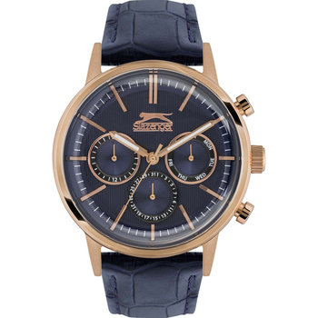 SLAZENGER Gents Blue Leather Strap