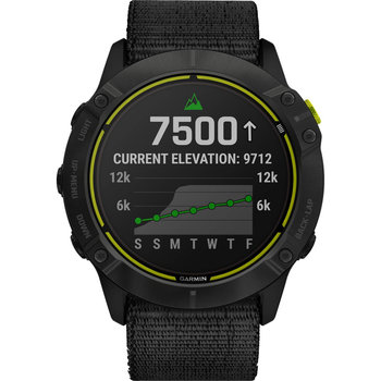 GARMIN Enduro Carbon Gray DLC Titanium with UltraFit nylon strap