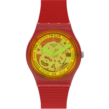 SWATCH Retro-Rosso Red