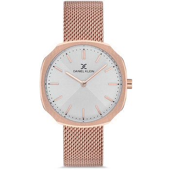 DANIEL KLEIN Rose Gold Stainless Steel Bracelet