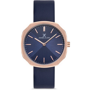 DANIEL KLEIN Blue Leather Strap