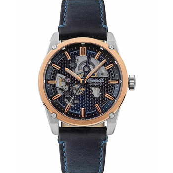 INGERSOLL Carroll Automatic Blue Leather Strap