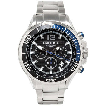 NAUTICA NST Chronograph Silver Stainless Steel Bracelet