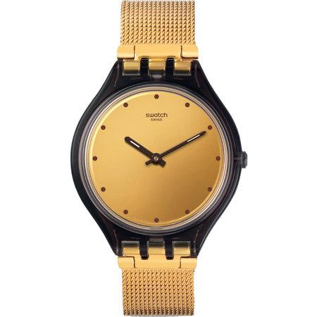 Ρολόι SWATCH Irony Automatic Boleyn Gold Stainless Steel Bracelet ... 6a436d7a2ad