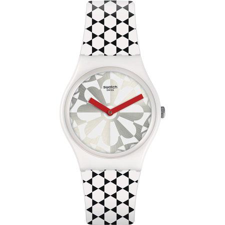 Ρολόι SWATCH SCINTILLATING White Silicone Strap - YLS450 - OROLOI.gr 4028b68f4a2