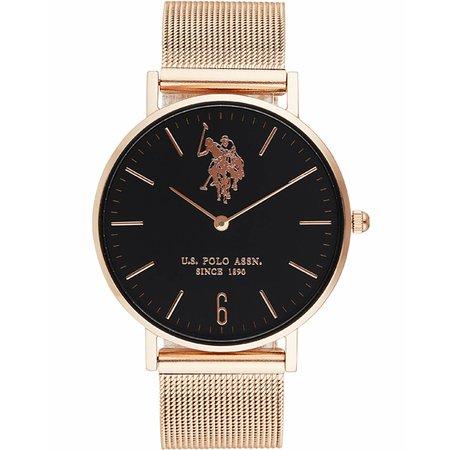 Ρολόι U.S. POLO Stainless Steel Bracelet - USP5404BK - OROLOI.gr 01ccdcb223a