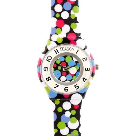 Ρολόι SEASONTIME Fresh Multicolor Plastic Strap - 111-8 - OROLOI.gr 96a3e19bf51